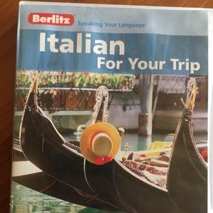 Other - New- Learn Italian CD